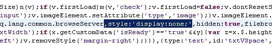ckeditor 中去掉浏览服务器按钮 - 周行天下 - zz的博客