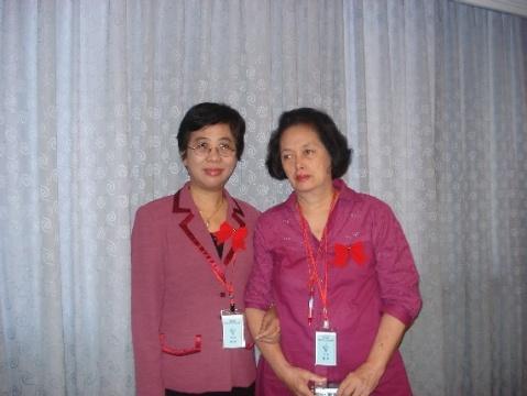 新加坡亚细安文艺营  喜遇印度尼西亚女作家爱伦 - yangling - 杨玲博客