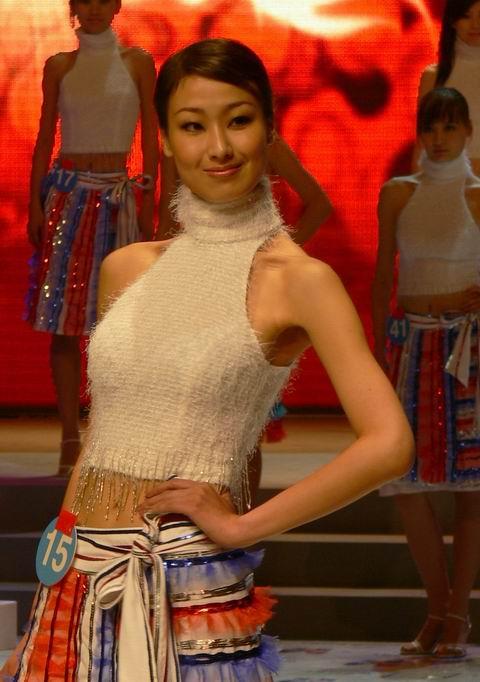 镜头记事——中日韩亚洲超级模特大赛决赛预演佳丽图片 - 林德荣 - 林德荣证券股票分析博客