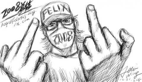 2008 [大總結] - Felix WING - 突然, Felix好想你...