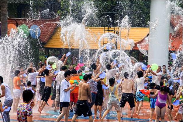 [原]深圳·华夏民俗村的泼水节 - Tarzan - 走过大地