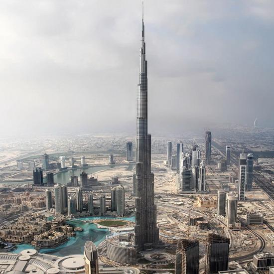 世界第一高楼迪拜塔今举办竣工典礼 - 六水 - 六水