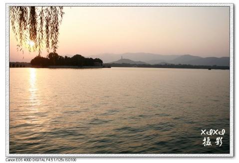 【金秋北京】夕照昆明湖 - xixi - 老孟(xixi)旅游摄影博客