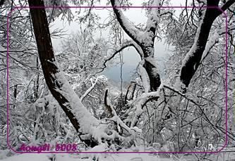 南京头陀岭雪景