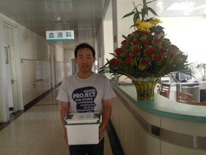 [报道]你是我们的双料冠军 - 北京之家 - 北京红十字造干志愿者之家