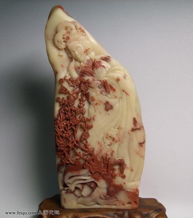 巴林石雕 金陵十二钗 - 东北·老兔子 - 东北·老兔子