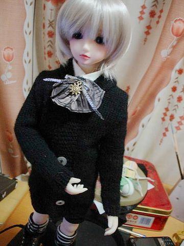 新的毛衣~ - 白玉狐 - 草莓样的味道
