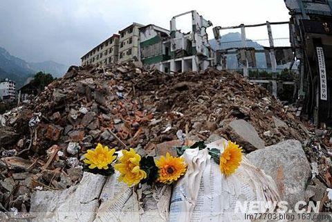 """引用 北川中学震灾见证人:""""5.12"""" 我一辈子的痛 - 大路的自然世界 - 大路有明"""