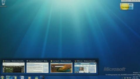 windows7先睹为快 - 零因子 - 零因子,无以言退
