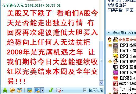 2009年元月23日大盘综述 - ☆至尊☆天元 - ☆至尊☆天元的博客 霸占牛股天天超短线群