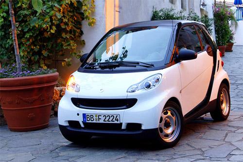 图1:电动版smart ed是一款真正零排放的纯电动车,它搭载了高清图片