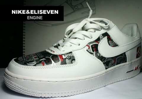 MY DIY  elisevennike air force 1  25周年纪念 - eliseven - ELISEVEN DESIGN