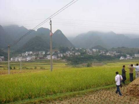 【原创】黔北新农村气象之三——幸福小山村 - 柳边河 - 柳边河