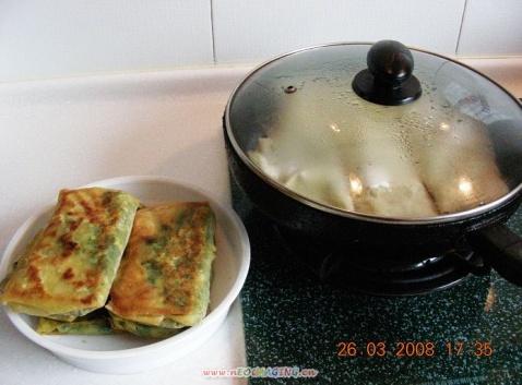 家常煎饼韭菜盒 - 人淡如菊 - 人淡如菊的博客