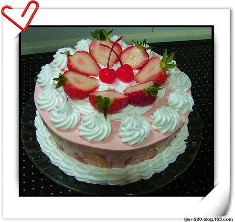 定做奶油芝士生日蛋糕 - 快乐的猪 - 一个小女人的幸福生活