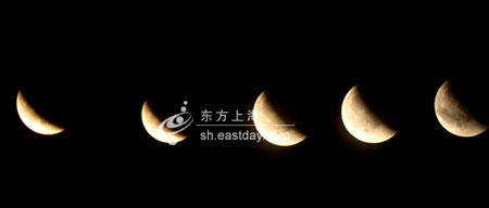 组图:我国部分地区观赏到月全食天象 - 潇彧 - 潇彧咖啡-幸福咖啡