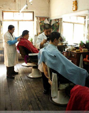 好奇的理发师 - 迈克 - 迈克的博客