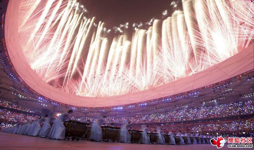 08奥运开幕式精彩场面 静子森林 静子森林 永远保持一份美
