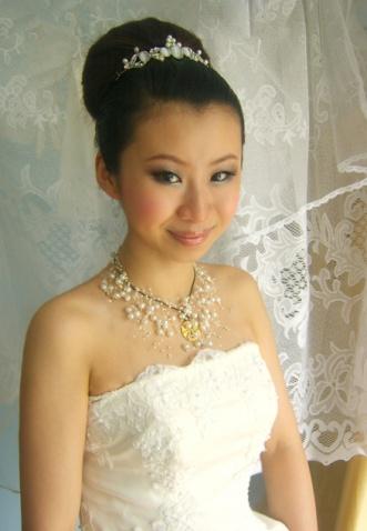 经典赫本新娘造型