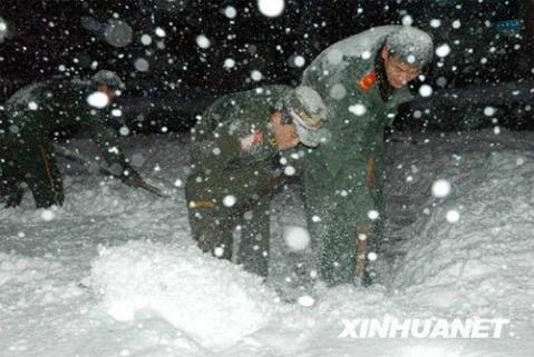 下雪了 - 肖梅 - 肖梅的博客