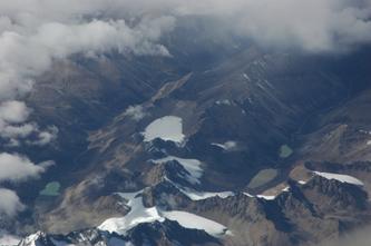 俯瞰青藏高原