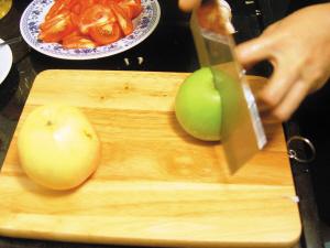 美食菜谱 清爽美味水果菜
