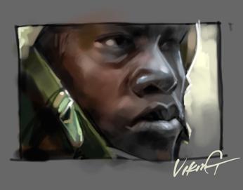 戴头盔的士兵 - 维京 - 维京
