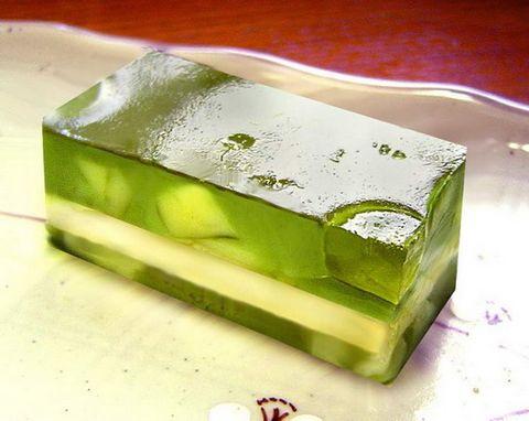 【抹茶椰汁夹心冻糕】 - jelly - Jellys......