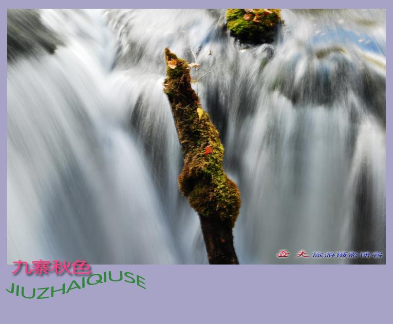 (原摄)九寨秋色之十二 - 高山长风 - 亚夫旅游摄影博客