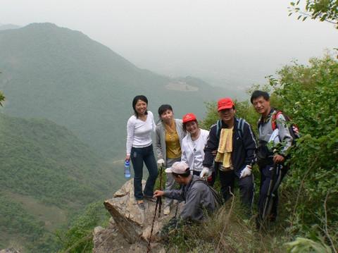 攀西安市周至县就峪沟无名山峰有感 - xianhxqcm - 终南天下秀