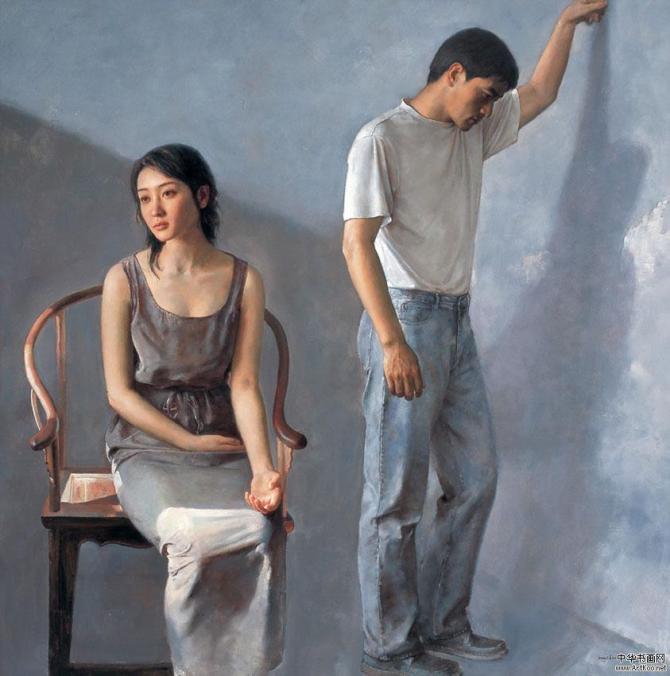 理性与热情--袁正阳油画 - 石墨閣画廊 - 石墨閣画廊--雨濃的博客