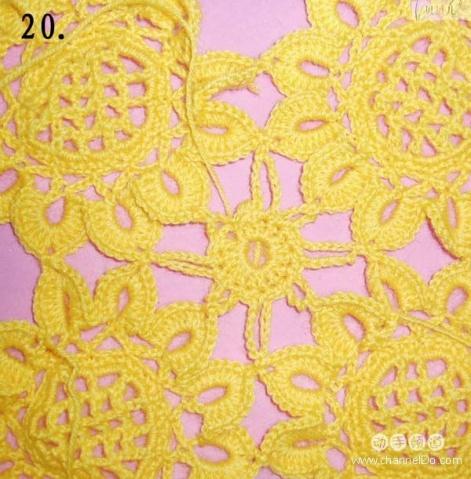 太阳花的钩法 - zxyxjm - zxyxjm的博客