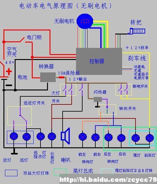 电动车整车电气原理图 - huangjishi - huangjishi 的博客