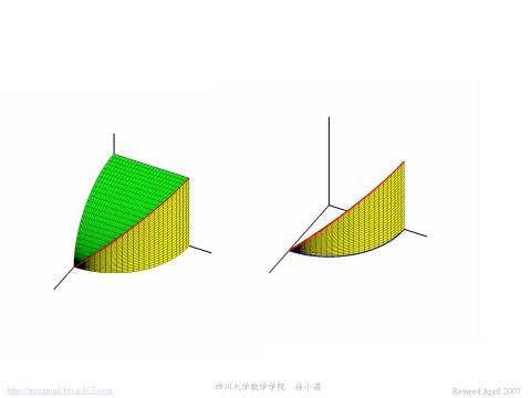 对弧长的曲线积分的几何意义 - calculus - 高等数学