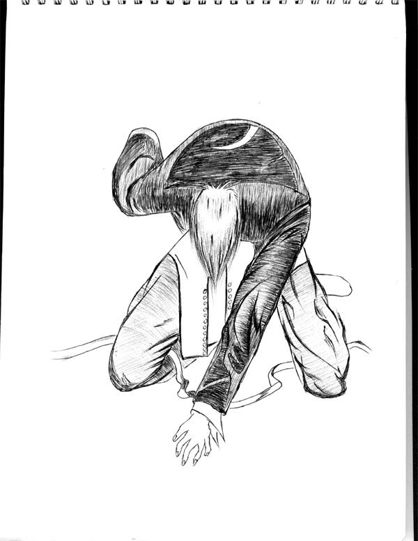 八神庵(手绘作品:手绘 扫描仪 photoshop)