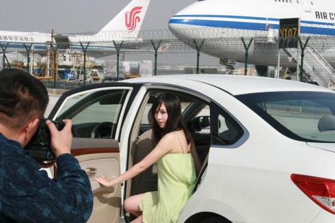 """为《百姓TAXI》拍摄的""""汽车宝贝""""图片 - 袁菲 - 袁菲 — 菲菲的小窝"""