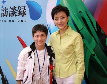 丘索维金娜 母爱创造体坛奇迹 - 杨澜 - 杨澜 的博客