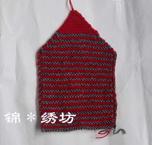 很简单的袜子编织法(片织) - 楚天 - lqp59(楚天)的博客