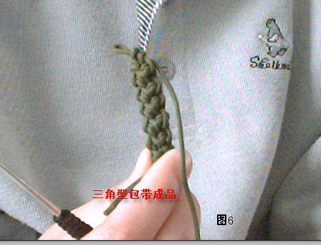 角形包带和圆形包带的钩法 - lily - llhtourist 的博客