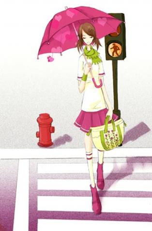 女孩子喜欢的韩国卡通贴图集合