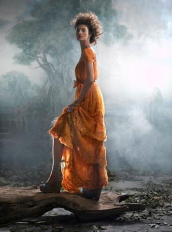 充满古典气质的浪漫唯美裙装摄影 - 五线空间 - 五线空间陶瓷家饰