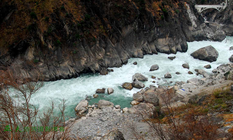 (原摄)丽江 虎跳峡之一 - 高山长风 - 亚夫旅游摄影博客