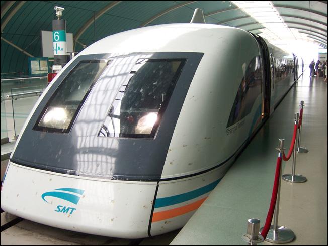 080808 上海几日  (一) 乘坐磁浮 (Maglev Shang hai|) - 天外飞熊 - 天外飞熊