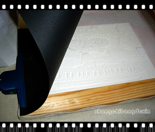 一步一步做石膏版画(附图) - 转角遇到了你 - 三人行,必有我师——刘老师的美术教室