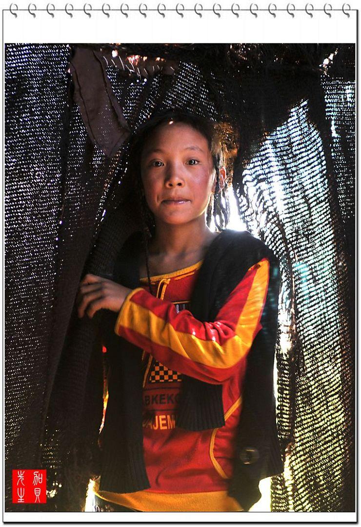 [原摄]藏族姑娘的表情变化(7P) - 加贝先生 - 加贝先生的博客