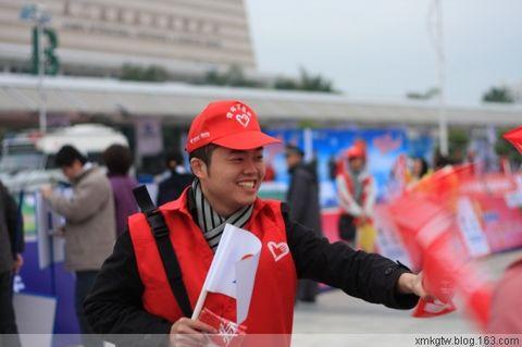 集团青年志愿者积极服务马拉松赛