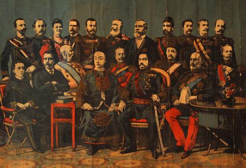 一百多年前的二十国首脑鈥満嫌扳