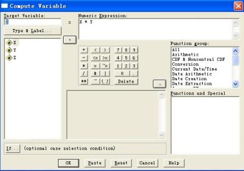 【转载】SPSS中两个变量乘积的计算 - 豆豆 - 学习SPSS,EXCEL各种统计软件