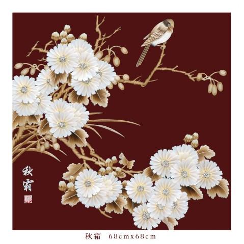 麦草画系列 - 蒲公英 - pugongying999 的博客
