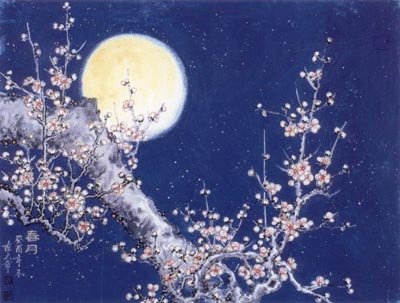 引用 [原创音画]当雪花爱上梅花 - 明月依旧 - 明月依旧